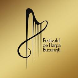 Logo Festivalul de Harpă București 2016, ed. a II-a