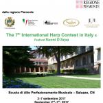 Concursul Internațional de Harpă - Italia, ediția a VII-a & Festivalul Suoni D'Arpa 2017
