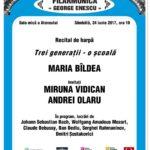 Recital Maria Bildea 24 iunie 2017