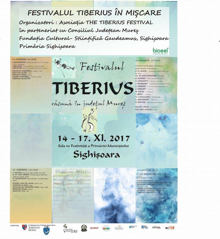 """Festivalul Internațional de Muzică de Cameră """"Tiberius"""" Ed. XII-a"""