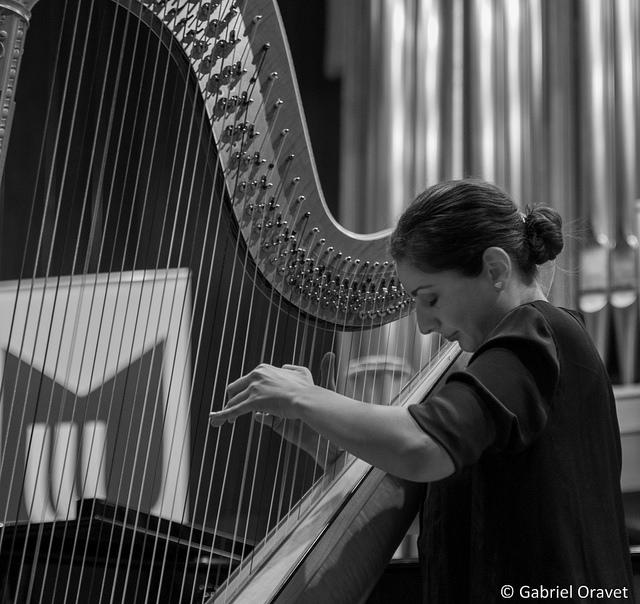 Adriana Cîlțea - Festivalul de Harpă București 2016
