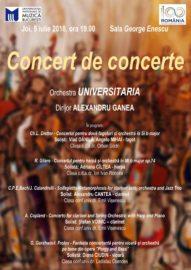 Concert de concerte la UNMB