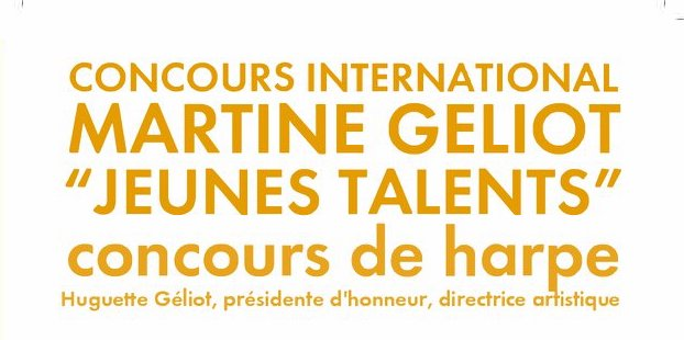 Concurs International Martine Géliot