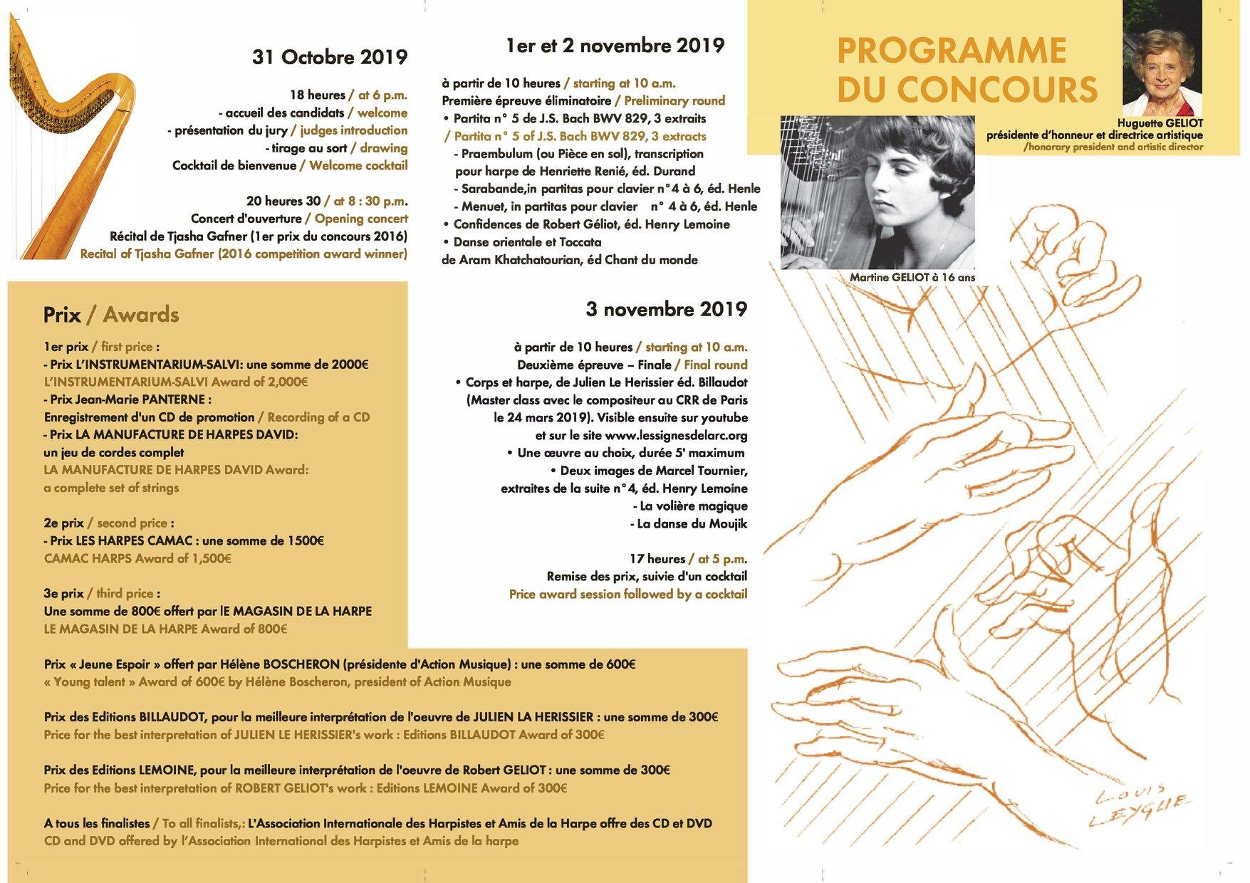 Concurs International de Harpa Martine Geliot
