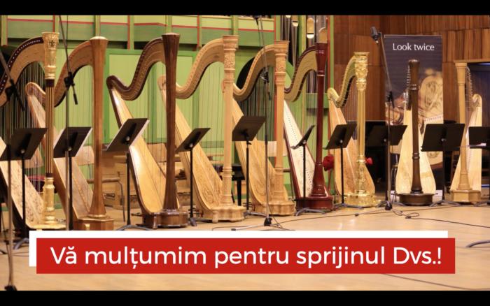 Asociația Harpiștilor din România - Direcționare 2%