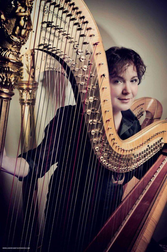 Maria Bîldea Recital de Harpă la Sofia