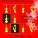 Violoncelul, harpa și emoțiile. Pedro Bonet (violoncel) și Roxana Moișanu (harpă celtică)