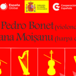 "Recital ""Cello, harp and emotions"" Roxana Moișanu (harp) and Pedro Bonet (cello)"