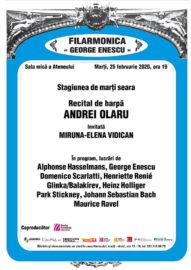 Recital de harpă Andrei Olaru