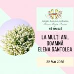 La mulți ani doamnă Elena Ganțolea