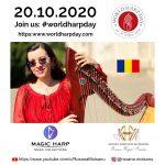 Harpist Roxana Moisanu - World Harp Day 2020