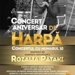 Rozalia Pataki Recital de harpă - Asociația Harpiștilor din România