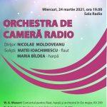Concert Mozart Sala Radio - Maria Bîldea și Matei Ioachimescu