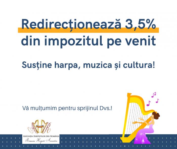 Redirecționează 3,5% din impozitul pe venit-Asociatia-Harpistilor-din-Romania