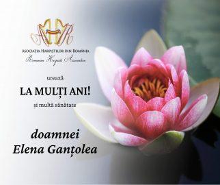 LA MULTI ANI ELENA GANTOLEA -20 MAI 2021 - ASOCIATIA HARPISTILOR DIN ROMANIA